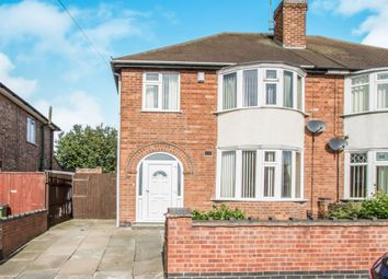Thumbnail 3 bed semi-detached house for sale in Neal Avenue, Leicester