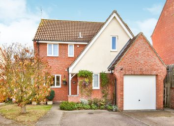 Thumbnail 3 bed detached house for sale in Bee-Orchid Way, Rockland St. Mary, Norwich