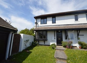 Thumbnail 3 bed semi-detached house to rent in Parcandowr, Grampound Road, Truro