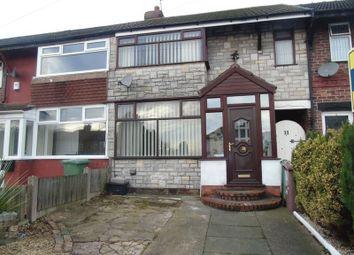 Thumbnail 3 bed terraced house for sale in Ivyfarm Road, Rainhill, Prescot