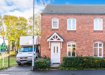 Thumbnail 2 bed semi-detached house to rent in Darwin Crescent, Loughborough