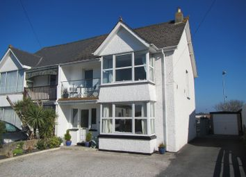 Thumbnail 5 bed semi-detached house for sale in Henver Road, Newquay