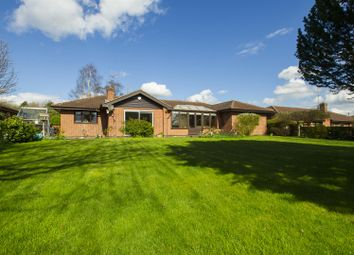 Thumbnail 4 bedroom detached bungalow for sale in Broad Close, Woodborough, Nottingham