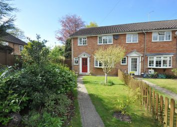 Thumbnail 3 bed end terrace house for sale in Compton Road, Church Crookham, Fleet