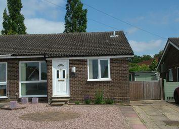 Thumbnail Semi-detached bungalow for sale in St. Michaels Road, Long Stratton, Norwich