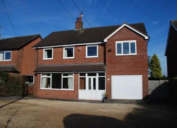 Thumbnail 4 bed detached house for sale in Bar Hill, Madeley, Crewe, Staffordshire