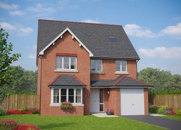 Thumbnail 5 bed detached house for sale in The Criccieth, Plots 22, 26 & 40, Off Old Hall Lane, Hawarden