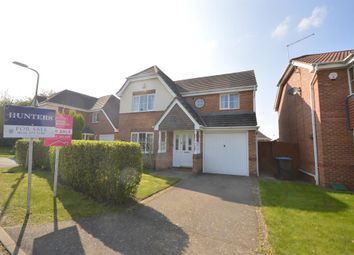 Thumbnail 4 bed detached house for sale in Foxglove Close, Broughton Astley, Leicester
