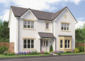 "Thumbnail 4 bed detached house for sale in ""Kennaway Det"" at Caulderhame Road, Currie"