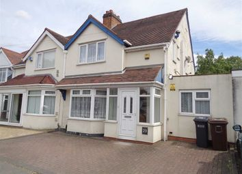 Thumbnail 3 bed semi-detached house for sale in Holly Lane, Marston Green, Birmingham