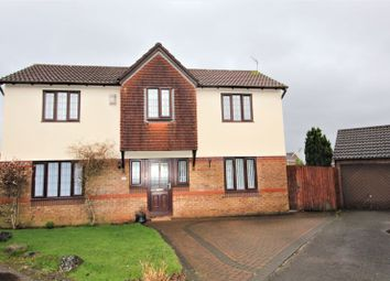 Thumbnail 4 bedroom detached house for sale in Meirwen Drive, Culverhouse Cross, Cardiff