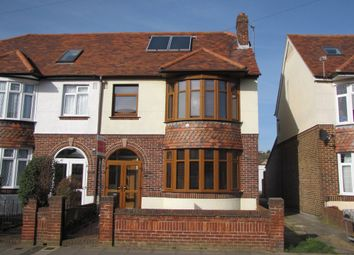 Thumbnail 3 bedroom semi-detached house for sale in Dysart Avenue, Drayton, Portsmouth