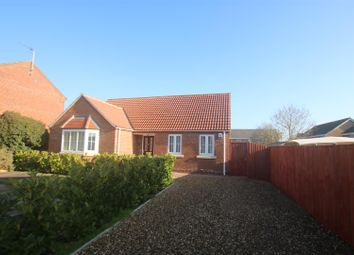 Thumbnail 2 bedroom detached bungalow for sale in Hawthorn Drive, Sleaford
