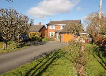 Thumbnail 4 bed detached house for sale in Vicarage Lane, Kinnerley, Oswestry