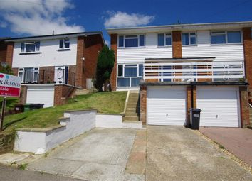 Thumbnail 3 bed semi-detached house for sale in Pebsham Lane, Bexhill-On-Sea