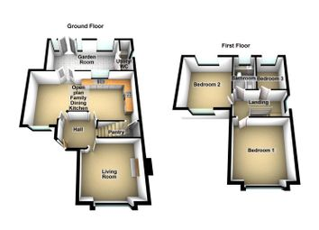 Thumbnail 3 bed semi-detached house for sale in Cossington Road, Sileby, Leicestershire