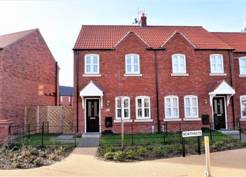 Thumbnail 3 bed end terrace house for sale in Northgate, Kingswood, Hull