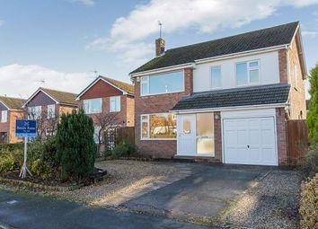 Thumbnail 4 bed detached house for sale in Sandown Crescent, Cuddington, Northwich