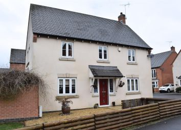 Thumbnail 4 bed detached house for sale in Moray Close, Church Gresley, Swadlincote
