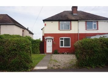 Thumbnail 3 bed semi-detached house for sale in Frank Webb Avenue, Crewe