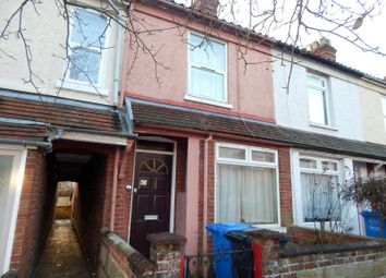 Thumbnail 3 bedroom terraced house to rent in Highland Road, Norwich