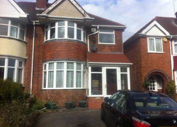 Thumbnail 3 bed property to rent in Ridgacre Road, Quinton, Birmingham