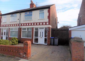 Thumbnail 3 bed semi-detached house for sale in Knaresborough Avenue, Blackpool