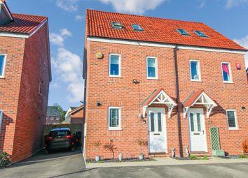 Thumbnail 3 bed semi-detached house for sale in Bushton Close, Coate, Swindon