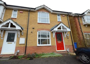 Thumbnail 2 bed end terrace house to rent in Silvester Way, Church Crookham, Fleet