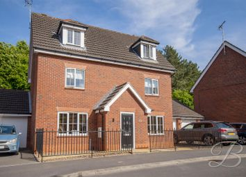 Thumbnail 5 bed detached house for sale in Dodsley Way, Clipstone Village, Mansfield