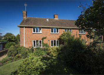 Thumbnail 4 bed semi-detached house for sale in Peel Close, Blandford Forum, Dorset