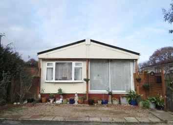 Thumbnail 2 bed mobile/park home for sale in Hillbury Road, Alderholt, Fordingbridge