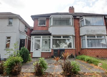 Thumbnail 2 bed semi-detached house for sale in Cranes Park Road, Sheldon, Birmingham