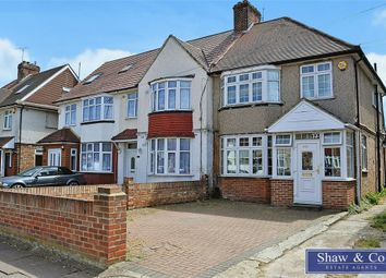 Thumbnail 3 bed semi-detached house for sale in Central Avenue, Hounslow, Middlesex