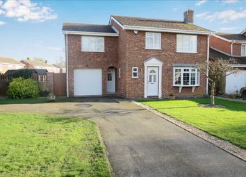 Thumbnail 4 bedroom detached house for sale in St. Johns Close, Leasingham, Sleaford