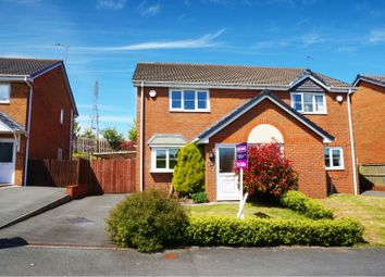 Thumbnail 2 bed semi-detached house for sale in Broughton Heights, Wrexham