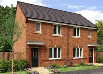 "Thumbnail 2 bed semi-detached house for sale in ""The Yare"" at Buttercup Gardens, Blyth"