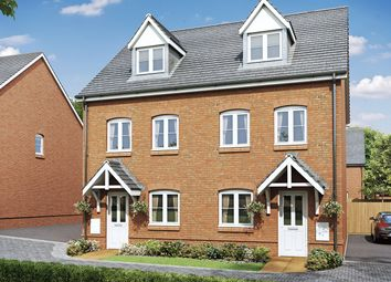"Thumbnail 3 bed semi-detached house for sale in ""The Wyatt"" at Allington Lane, Fair Oak, Eastleigh"