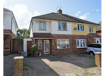 Thumbnail 3 bed semi-detached house for sale in Bendon Way, Gillingham