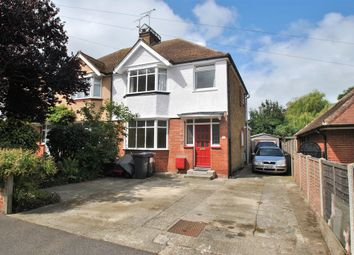 Thumbnail 3 bed semi-detached house for sale in Boleyn Avenue, Margate