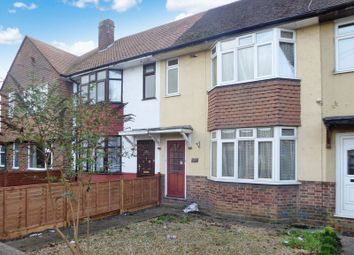 Thumbnail 3 bed terraced house for sale in Poynters Road, Dunstable