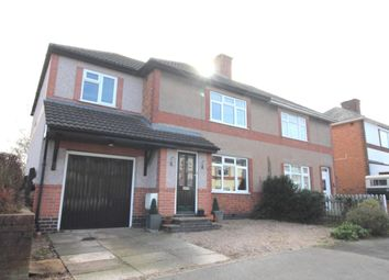 Thumbnail 4 bed detached house to rent in Woodland Avenue, Burbage, Hinckley