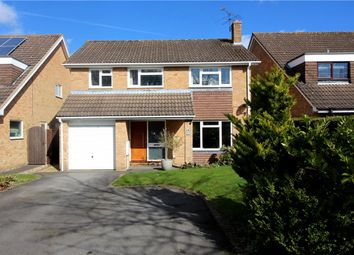 Thumbnail 4 bedroom detached house for sale in Badgers Holt, Yateley