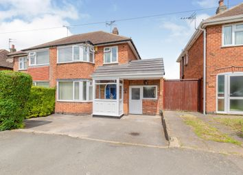 Thumbnail 3 bedroom semi-detached house for sale in Cardinals Walk, Off Scraptoft Lane, Leicester