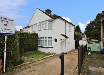 Thumbnail 2 bedroom semi-detached house for sale in Beechcroft Avenue, Bexleyheath