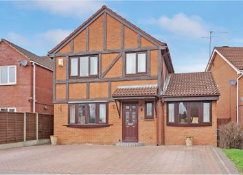 Thumbnail 4 bed detached house for sale in Grassington Drive, Worcester