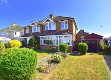 Thumbnail 3 bed semi-detached house for sale in Crabtree Lane, Lancing, West Sussex