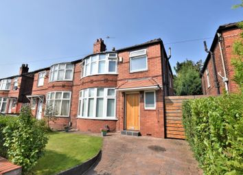 Thumbnail 3 bed semi-detached house to rent in Fairholme Road, Withington, Manchester