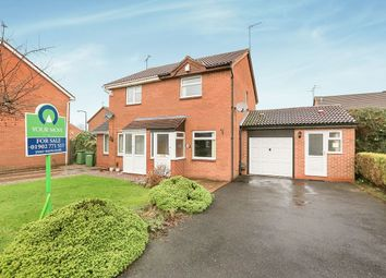 Thumbnail 2 bedroom semi-detached house for sale in Haywain Close, Pendeford, Wolverhampton
