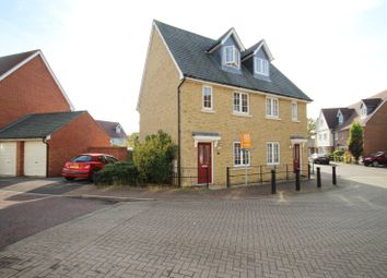 Thumbnail 3 bed semi-detached house to rent in Cambie Crescent, Colchester